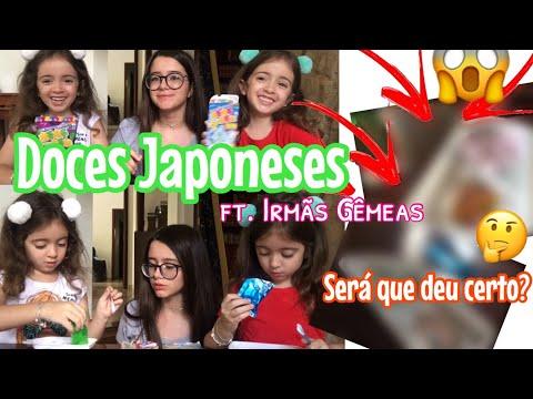 COMO (não) FAZER DOCES ASIÁTICOS!! Será que deu certo?!?😱😱(com Irmãs Gêmeas💕)|Lauraa Menezes