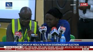 Collation Of Results In Osun Governorship Election Pt.20  Osun Decides 