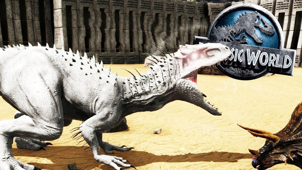 Recinto De Caza Indominus Rex Dinosaurio Hibrido Jurassic World 2 Ark Youtube Para algunos fans jurassic world 2 aludirá a aspectos de las anteriores películas, tales como la posible coexistencia del hombre y el dinosaurio. recinto de caza indominus rex dinosaurio hibrido jurassic world 2 ark