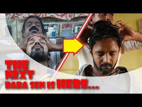 ASMR Sloth Head Massage with Cracking | The next Baba Sen is here