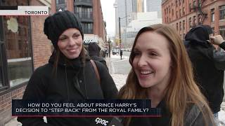 """How do you feel about Prince Harry's decision to """"step back"""" from the Royal Family? 
