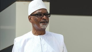 Malian president urges calm in overnight address after protesters take state TV off air