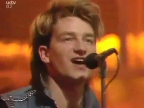 U2 - New Years Day (1983) Top Of The Pops