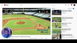 i react to  wii sports raging and funny moments - baseball championship