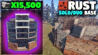 *NEW* CHEAP SOLO or Small Group Design | (Layout) Rust Base Building thumbnail