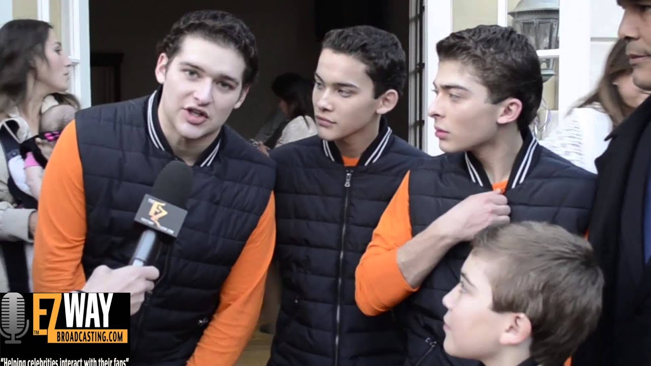 Ochoa Boyz Work That Behind The Scenes with Disney/Nick Celebs EZ WAY TV