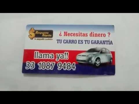 PRESTAMOS DE DINERO PARA GUADALAJARA Y TLAJOMULCO de YouTube · Duración:  1 minutos
