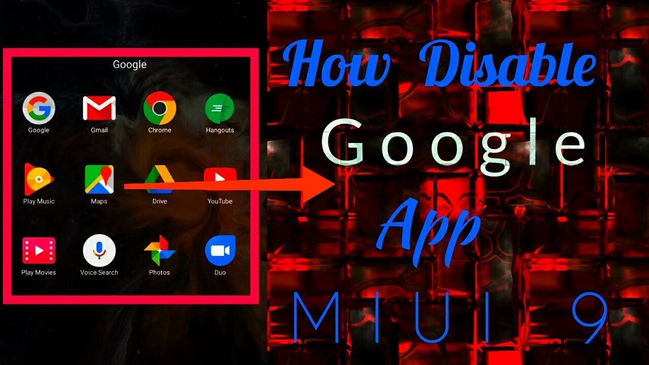 How to disable Google apps in MIUI 9 [ NO ROOT ]
