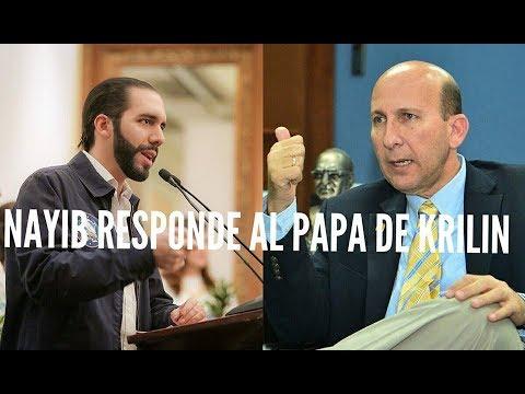 EL PAPA DE KRILIN JAVIER SIMAN SE ENFRENTA A NAYIB BUKELE