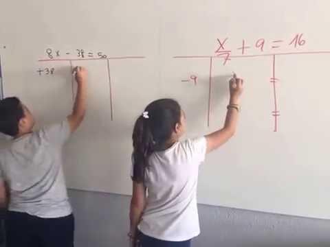 Ecuaciones en Cuarto de Primaria - YouTube