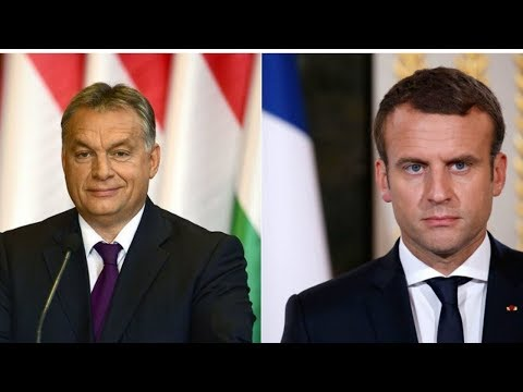 Viktor Orban Challenges Macron as Nations Stand with Hungary!!!