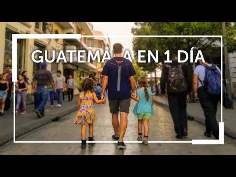 🇬🇹 ¿Porque les dicen CHAPÍN? Que HACER 1 día en GUATEMALA capital 🇬🇹  |Familia Nómade|