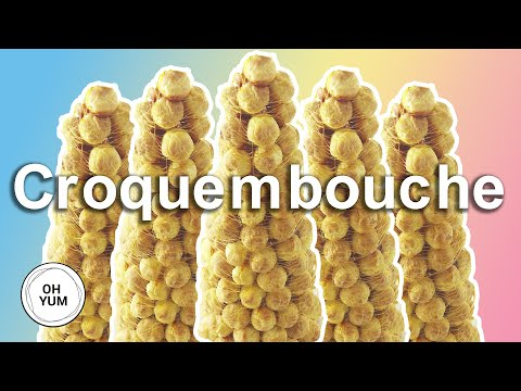 How to Assemble a Croquembouche Profiteroles Tower | Chef Anna Olson