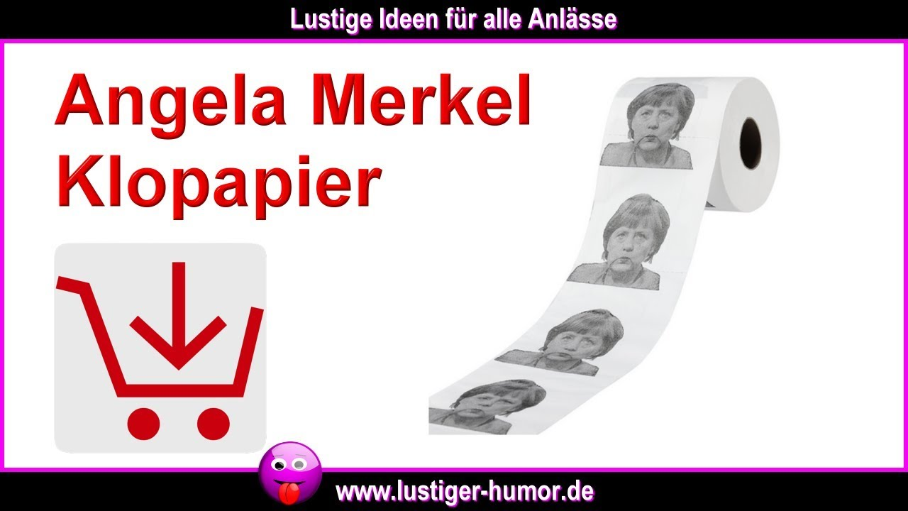 lustige witze zum totlachen unterschied bild zeitung vs angela merkel klopapier youtube. Black Bedroom Furniture Sets. Home Design Ideas