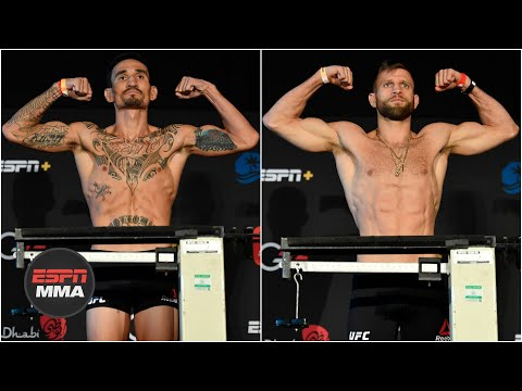 Ariel Helwani & Brett Okamoto preview Max Holloway vs Calvin Kattar | UFC Fight Night Weigh-In Recap