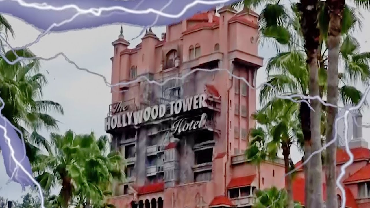 The Twilight Zone Tower Of Terror At Disney S Hollywood Studios Spooked Edition Youtube