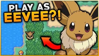 Pokemon Evolve Eevee Part 1 - PLAYING AS AN EEVEE IN POKEMON? Pokemon Fan Game Gameplay Walkthrough