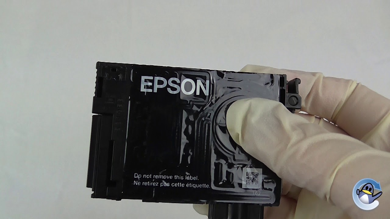 How To Refill and Reset An Epson 18 / 18XL Cartridge
