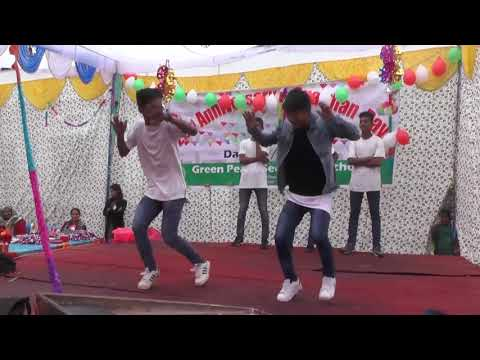Green Peace Secondary School Annual Function  Program 2073 11 27