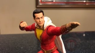 TOY HUNTING and REVIEW - DC MULTIVERSE SHAZAM MOVIE FIGURE and $5 BLACK PANTHER MARVEL LEGENDS