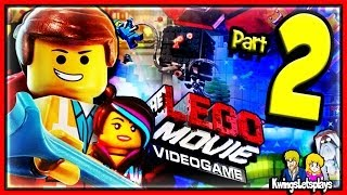 LEGO Movie Videogame Walkthrough Part 2 Bircksburg Escape!