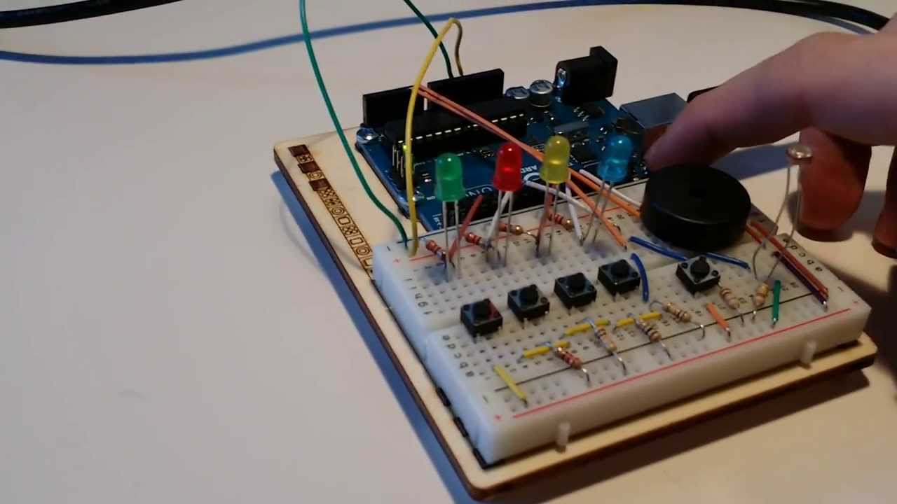 Image result for arduino simon says game