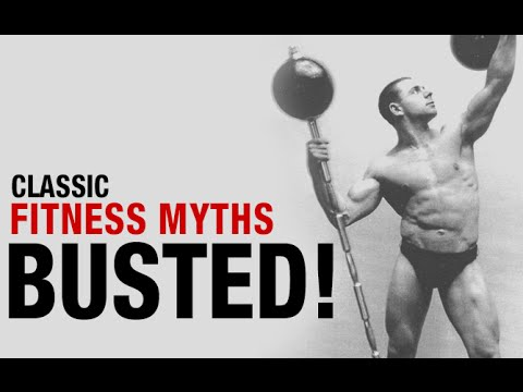 Top 10 Workout Myths - BUSTED!! (How Many Did You Believe?)