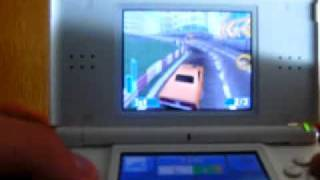 Need For Speed Nitro ds gameplay