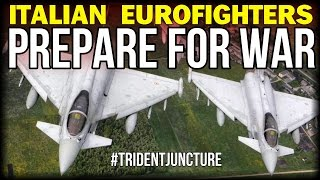ITALIAN EUROFIGHTERS PREPARE FOR WAR AGAINST RUSSIA!!!