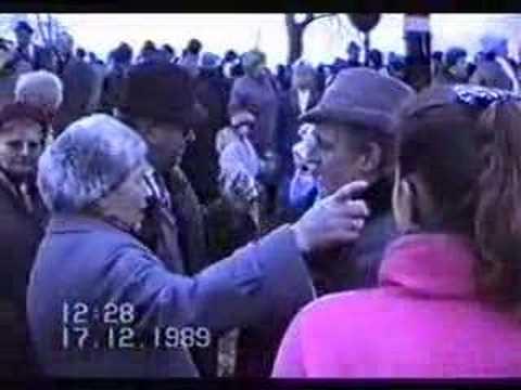 Břeclav 1989 - revoluce 8.část - setkání na státní hranici 2