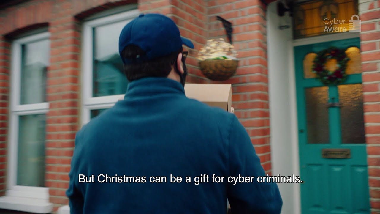 Shop securely online this Christmas with Cyber Aware