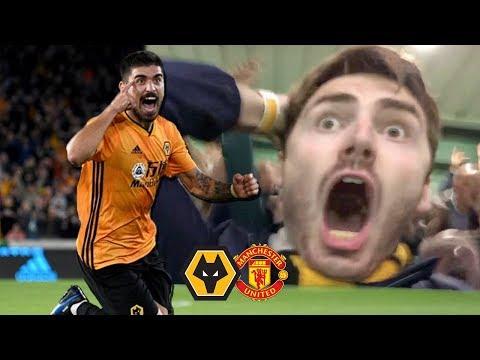 NEVES WORLDIE! (FT. VAR) Wolves Vs Manchester United 1-1 Matchday Vlog