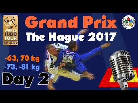 Judo Grand-Prix The Hague 2017: Day 2
