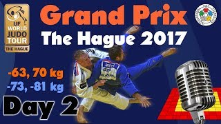 Video Judo Grand-Prix The Hague 2017: Day 2 download MP3, 3GP, MP4, WEBM, AVI, FLV Desember 2017