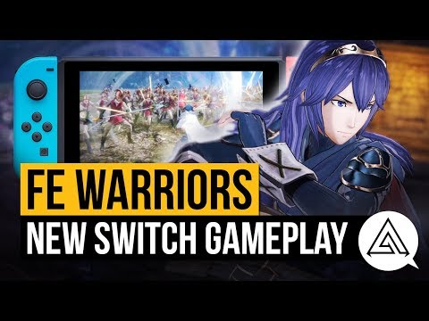5 Minutes Of New Fire Emblem Warriors Gameplay | Nintendo Switch