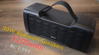 Zoook Jazz Blaster review 30W Rugged Bluetooth Speakers, IPX5, 5200 mAh battery price Rs. 2,999