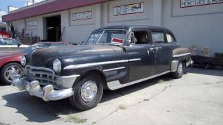 1950 Chrysler Crown Imperial Limo Detailed Interior/Exterior Tour w/ Engine Details