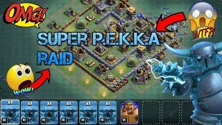 CLASH OF CLANS | SUPER PEKKA RAID | GET FREE GEMS HERE | GAMING WITH ROY