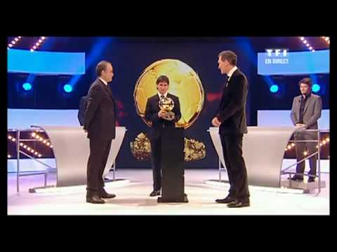 Lionel Messi Ballon d'or 2009 (Balon de oro 2009)