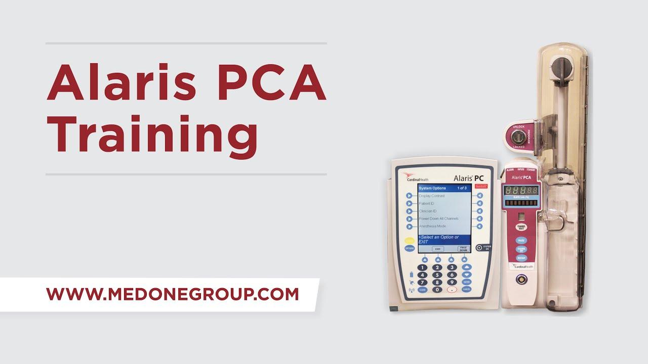 Alaris 8120 PCA Training