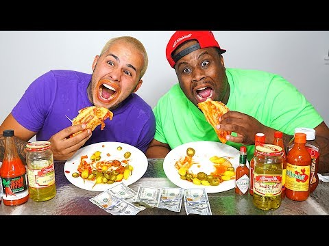 HOTTEST HOT TACO IN THE WORLD!!! $500 CASH BET!!! GHOST PEPPER + CAROLINA REAPER
