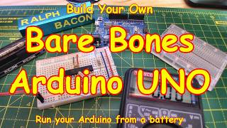 #117 Bare Bones 💀 Arduino (make your own)
