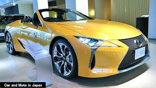 ( 4K ) Lexus LC500 Convertible : Yellow