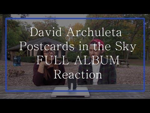 David Archuleta's Postcards in the Sky FULL ALBUM Reaction | The Millennial Chisme