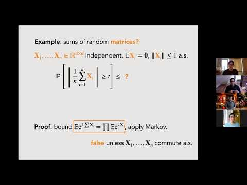 Jonathan Niles-Weed (NYU): Matrix concentration for products