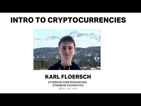 Intro to Cryptoeconomics by Karl Floersch (Ethereum Foundation) at Ethereum Meetup 2018