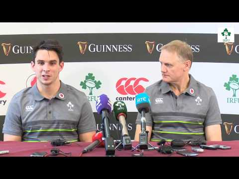 Irish Rugby TV: Ireland v Fiji - Team Announcement Press Conference