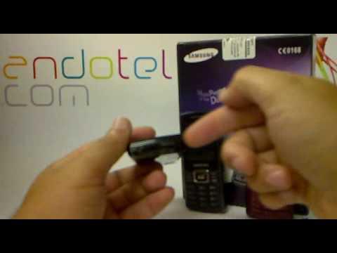 Samsung C5212 Dual Sim. Demostracion a cargo de Andotel.com Samsung C5212 dual sim