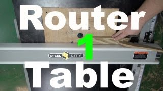 Router Table Tablesaw Extension - Diy Router Table Pt.1