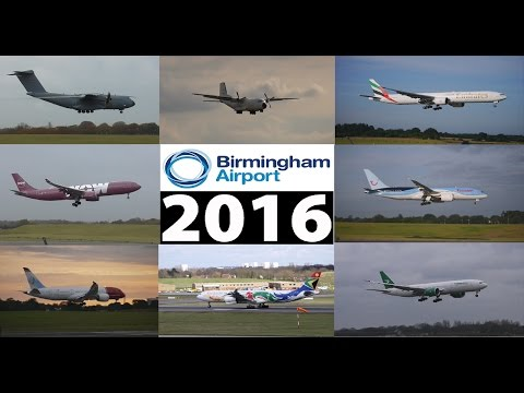 Best of Birmingham Airport 2016